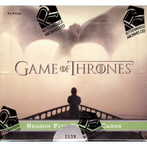 Game of Thrones Season 5 Trading Cards - Box