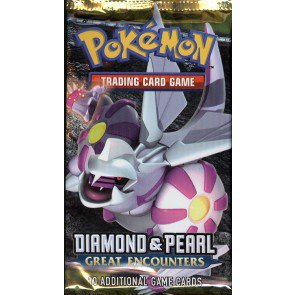 Pokemon Diamond/Pearl Great Encounters Booster Pack