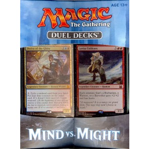Magic the Gathering Duel Decks Mind vs. Might Box