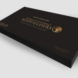 2018 Futera World Football Midfielders Premium Presentation Box Set /29