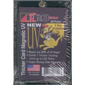 Pro-Mold Thicker 80pt Magnetic Holder - MH5UV5 - 25ct Box