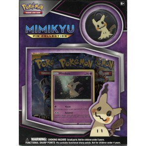 Pokemon Mimikyu Pin Col 3 Pack Blister - Box