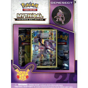 Pokemon Mythical Collection - Genesect 24 Box Case