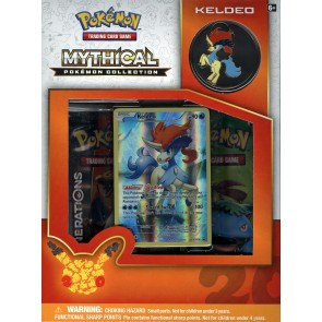 Pokemon Mythical Collection - Keldeo Box