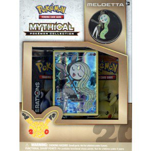Pokemon Mythical Collection - Meloetta 24 Box Case