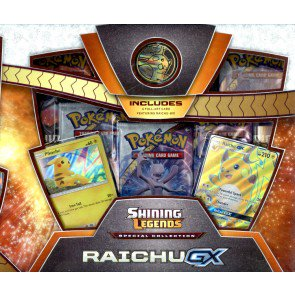 Pokemon Shining Legends Special Collection Raichu GX Box