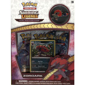 Pokemon Shining Legends Zoroark Pin Collection Box