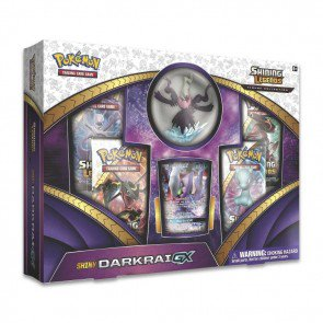 Pokemon Shining Legends Figure Collection Shiny Darkrai GX Box