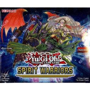 Yugioh Spirit Warriors 1st Edition Booster 12 Box Case