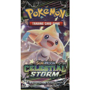 Pokemon Sun & Moon Celestial Storm Booster Pack