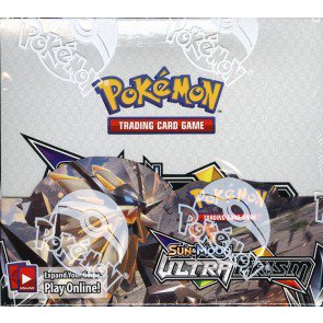 Pokemon Sun & Moon Ultra Prism Booster 6 Box Case
