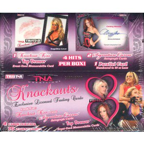 2009 Tristar TNA Knockouts Wrestling Hobby 24 Box Case
