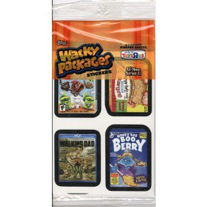 Topps Wacky Packages Series 11 Stickers Pack
