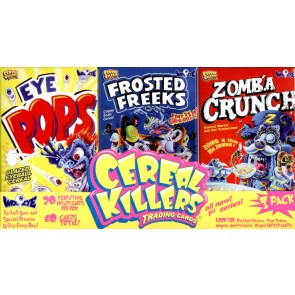 Wax Eye Cereal Killers 3-Pack Mini Cereal Series 1 - 10 Box Case