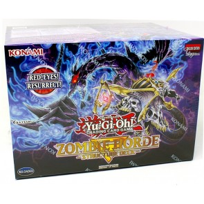 Yugioh Zombie Horde Structure Deck 12 Box Case