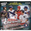 2017 Topps Chrome Update Mega Box Baseball - Box