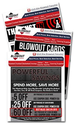 Blowout Cards Sport Entertainment Gaming Cards And More