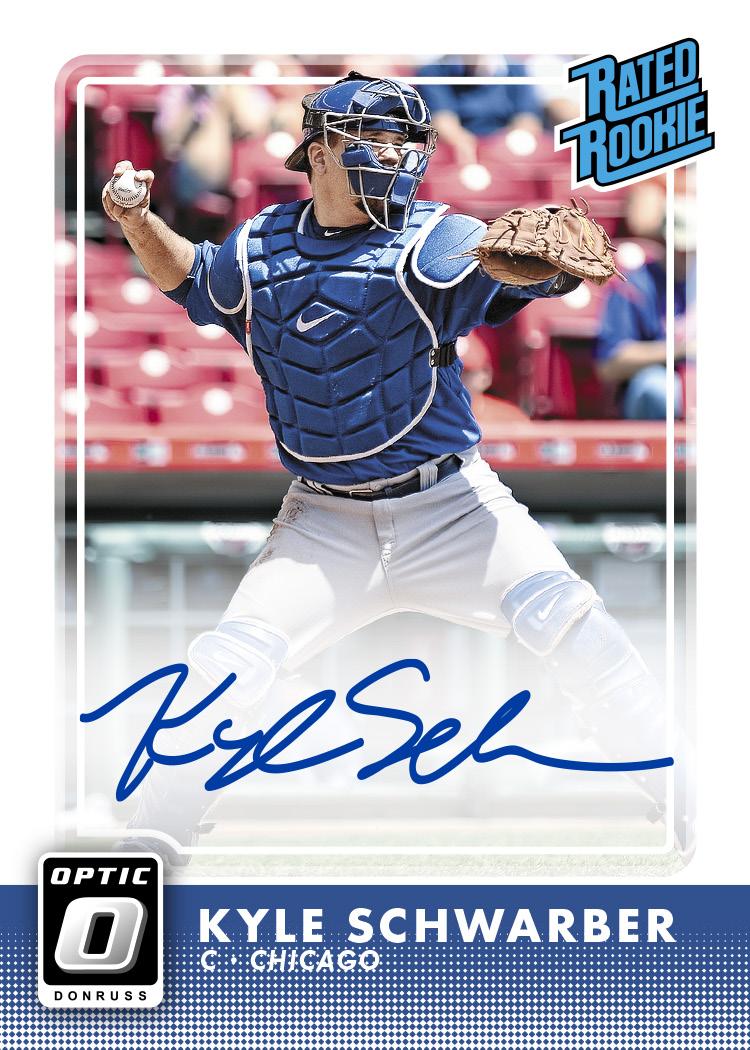 First Buzz 2016 Donruss Optic Baseball Cards Blowout Buzz