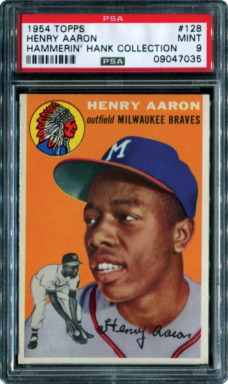 64a63bfb61 Four cards top $100,000 mark in Memory Lane Inc. auction
