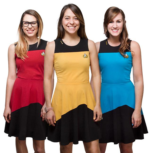 ba706a768c4 ThinkGeek's new Star Trek: TNG Trekini Swimwear far from the only ...