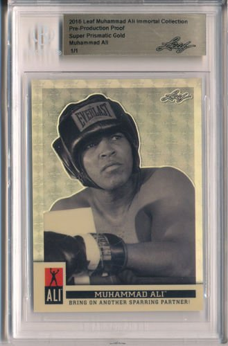 bd81e6220c2 Boxing fans will get a sneak peek at the Muhammad Ali trading card set  that s coming later this month from Leaf Trading Cards tonight on eBay.