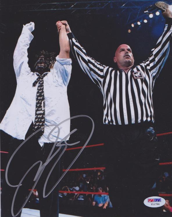 2019 Leaf Autographed 8x10 Photograph Edition Wrestling 5 photos//bx