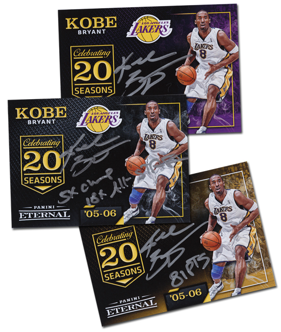 Kobe Bryant autographs coming to Panini Eternal on Friday 220471442