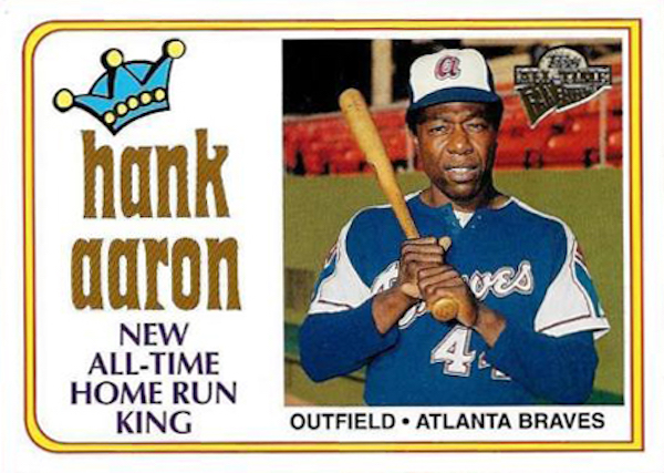 Revisiting A Favorite Hank Aaron Baseball Card On His 84th