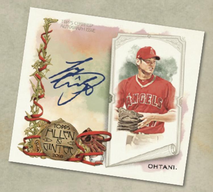 First Buzz 2018 Topps Allen Ginter Baseball Cards