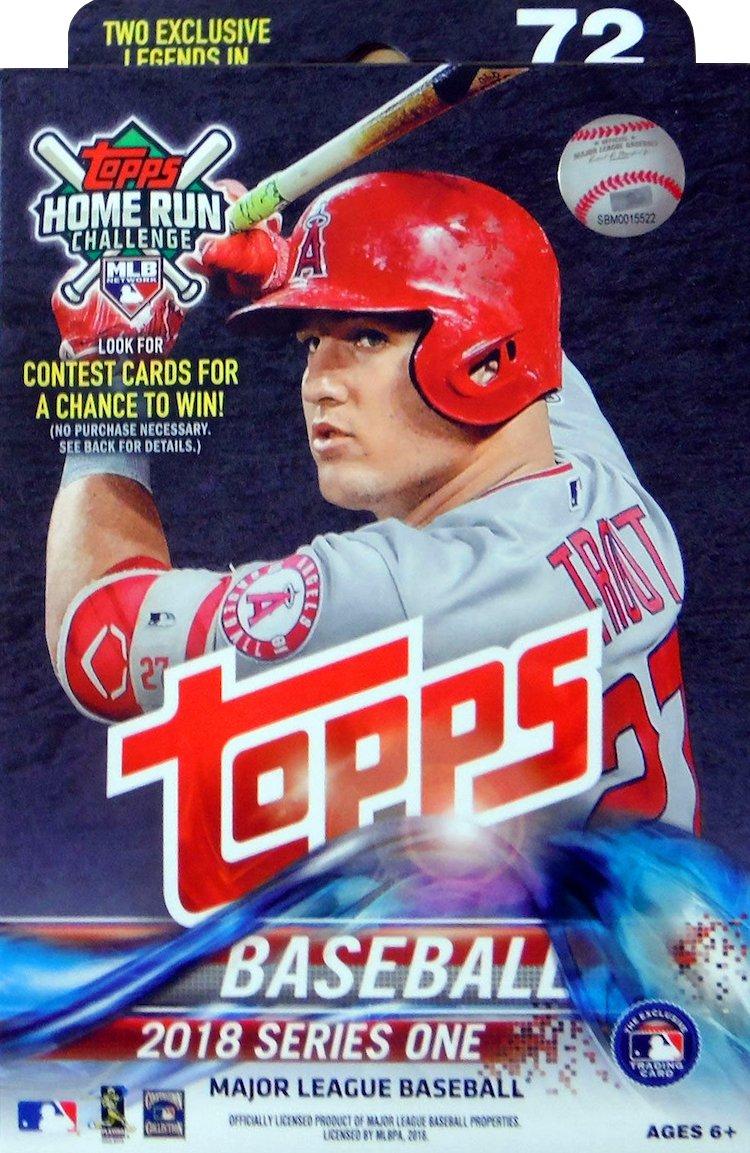 Buzz Break 2018 Topps Series 1 Baseball Cards Hanger Box