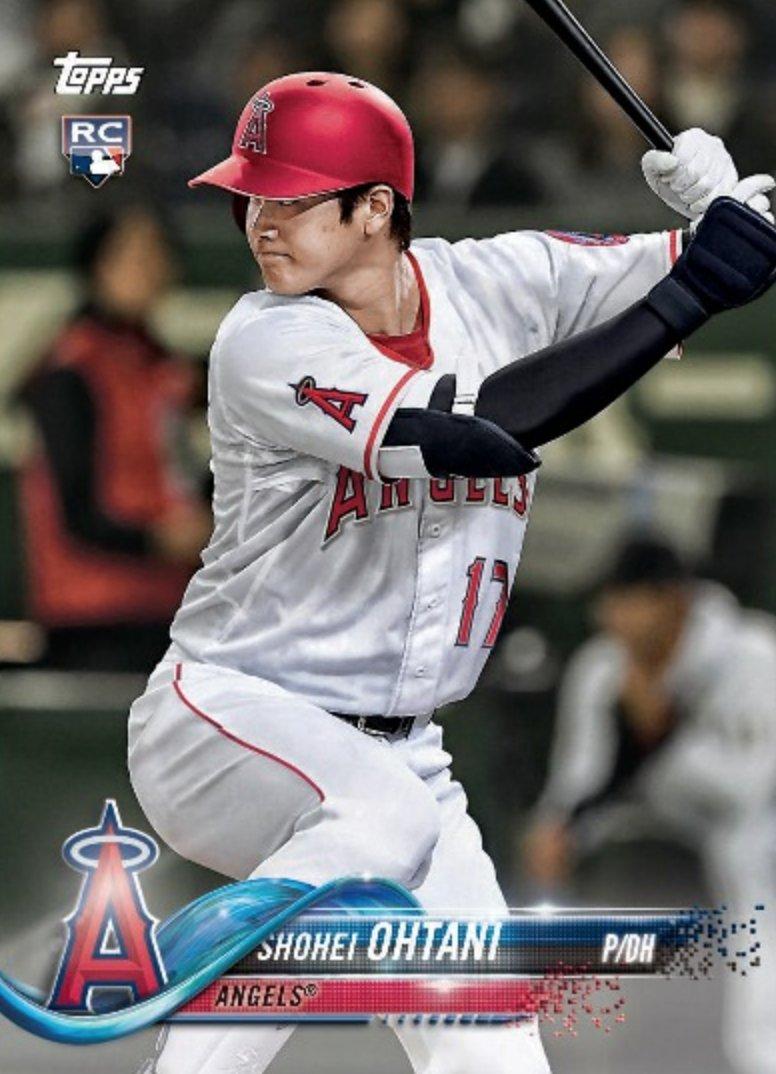 Shohei Ohtani Gets Nod For 2018 Topps Los Angeles Angels Team Set