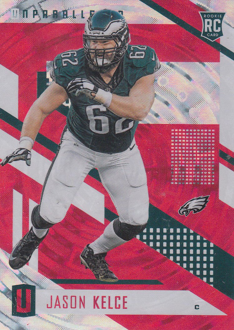 online store a9421 9e203 Jason Kelce Rookie Card in demand after Super Bowl and ...