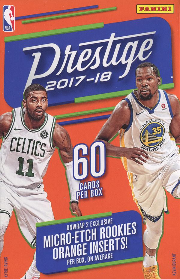 f2389864a Buzz Break  2017-18 Panini Prestige NBA cards (hanger box)