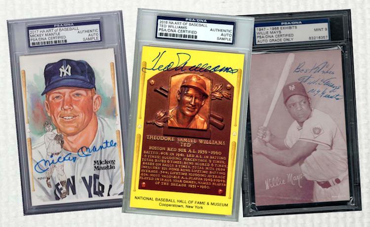 First Buzz 2018 Historic Autographs Art Of Baseball Blowout Buzz