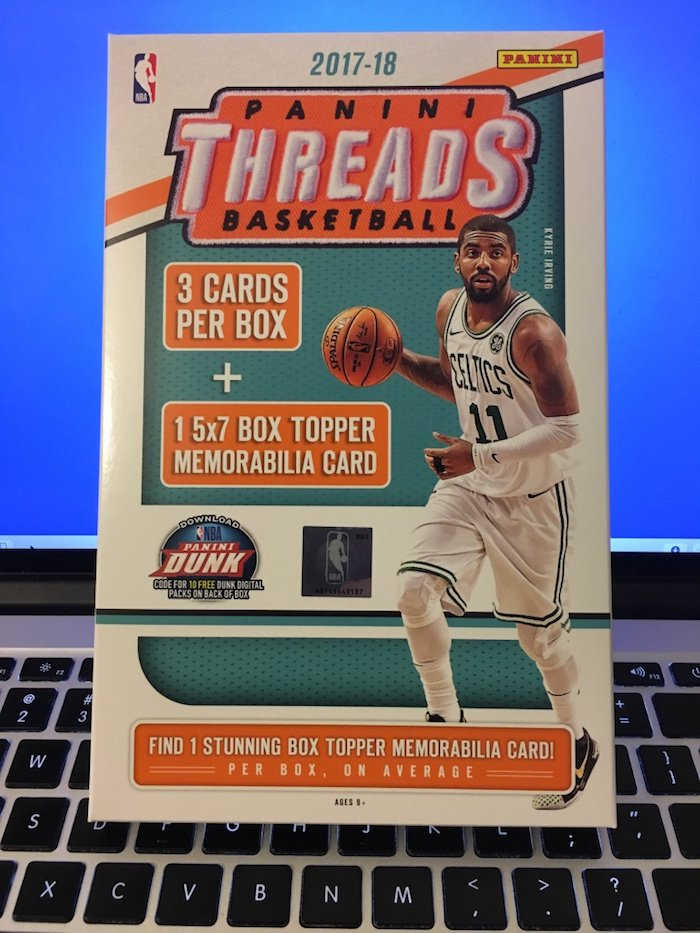 Buzz Break  2017-18 Panini Threads NBA cards (two boxes)   Blowout Buzz 0345b6a67