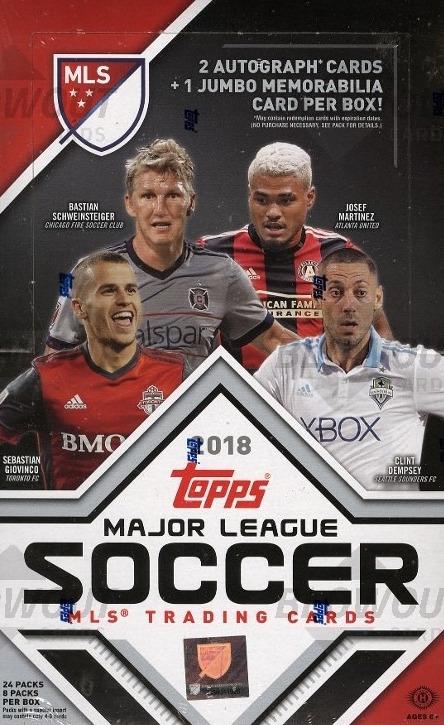cd6340ef068 Buzz Break  2018 Topps Major League Soccer (hobby box)   Blowout Buzz