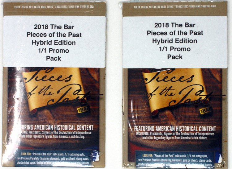 1//1 Promo Pack 2018 Super Break Pieces of the Past Hybrid Edition 10-Box Case