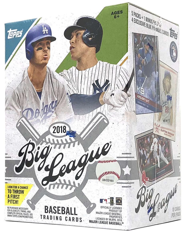 Buzz Break 2018 Topps Big League Baseball Cards Blaster