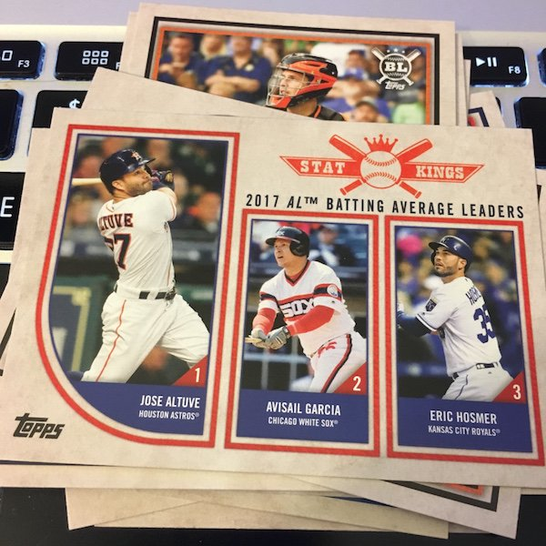 d471eca2474 Buzz Break  2018 Topps Big League baseball cards (blaster)   Blowout ...