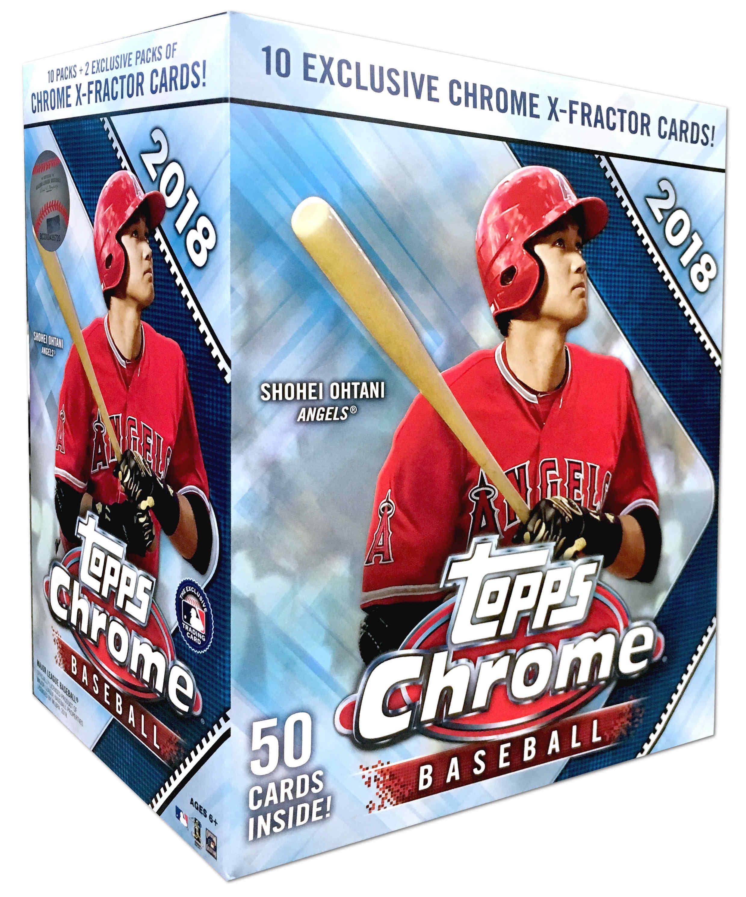 Buzz Break 2018 Topps Chrome Baseball Cards Mega Box Blowout Buzz