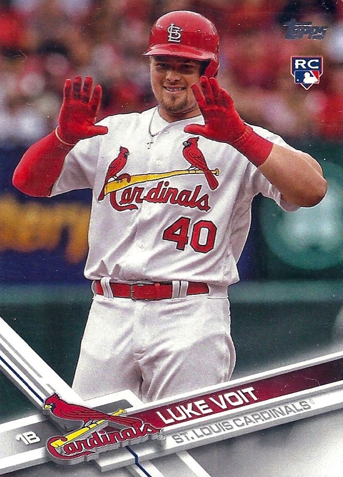 Luke Voit Has More Home Runs This Week Than Rookie Cards