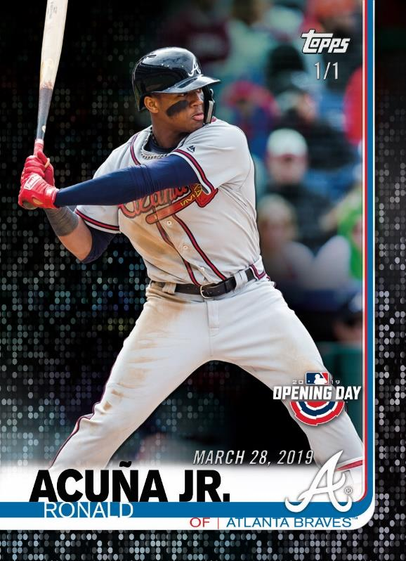 First Buzz 2019 Topps Opening Day Baseball Cards Blowout Buzz