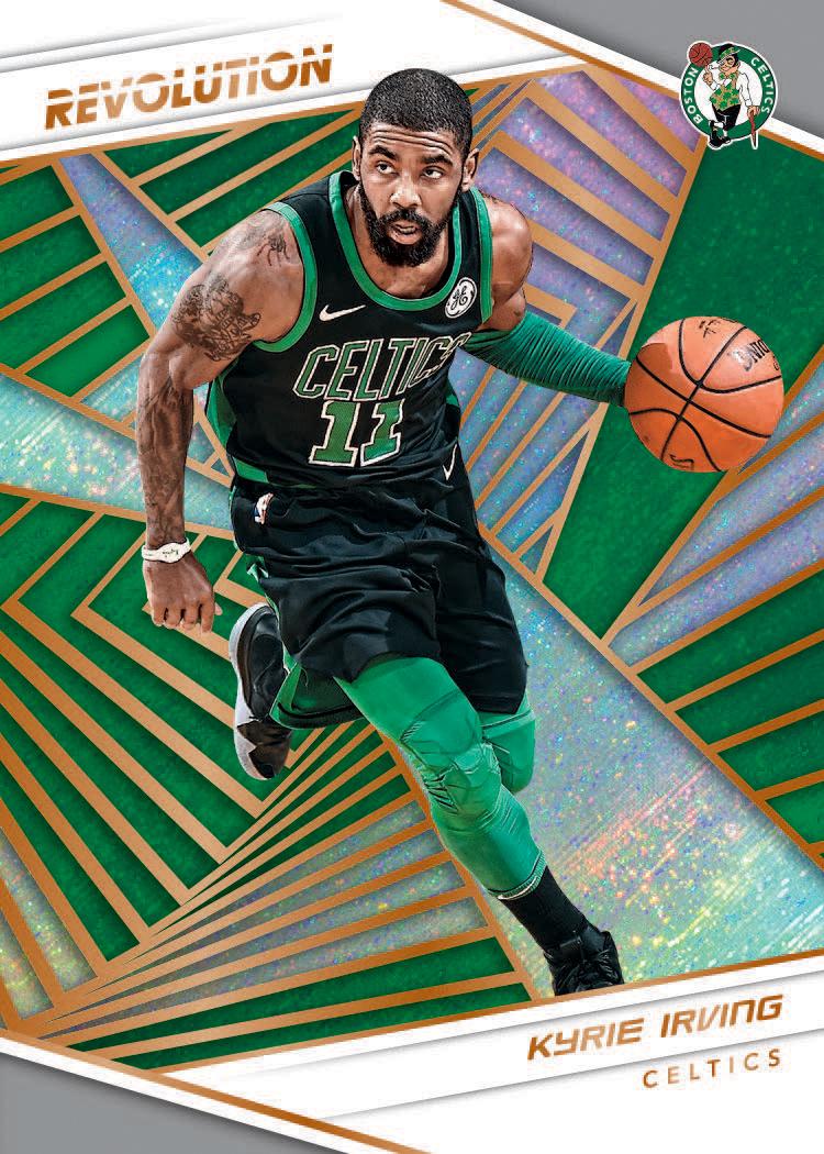 787ac82ffa0a First Buzz  2018-19 Panini Revolution basketball cards