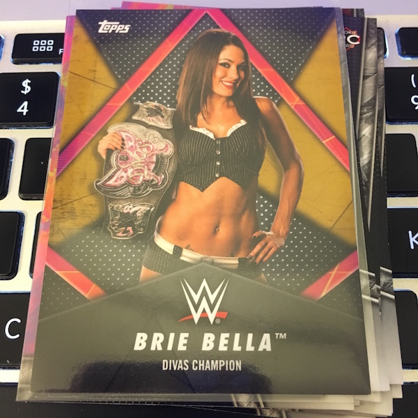 2018 TOPPS WWE WOMEN/'S DIVISION HOBBY BOX BLOWOUT CARDS