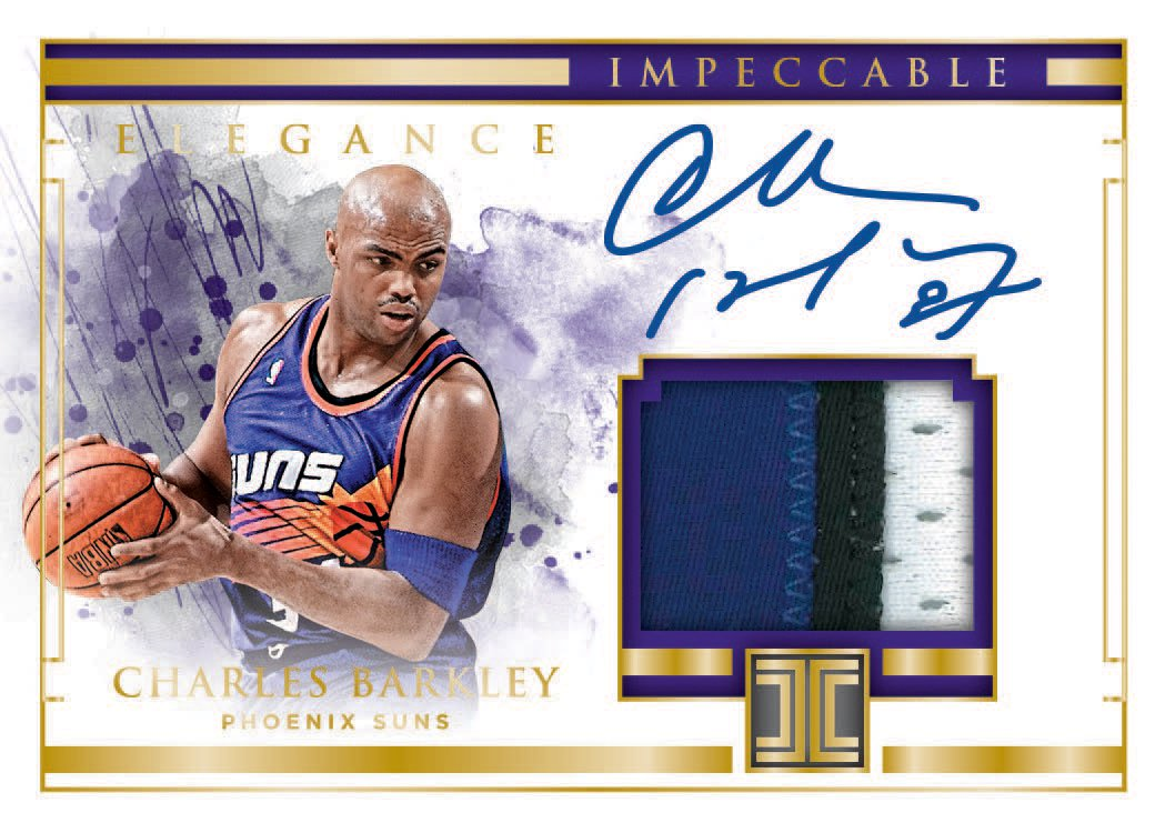a16cb98f7fef First Buzz  2018-19 Panini Impeccable basketball cards