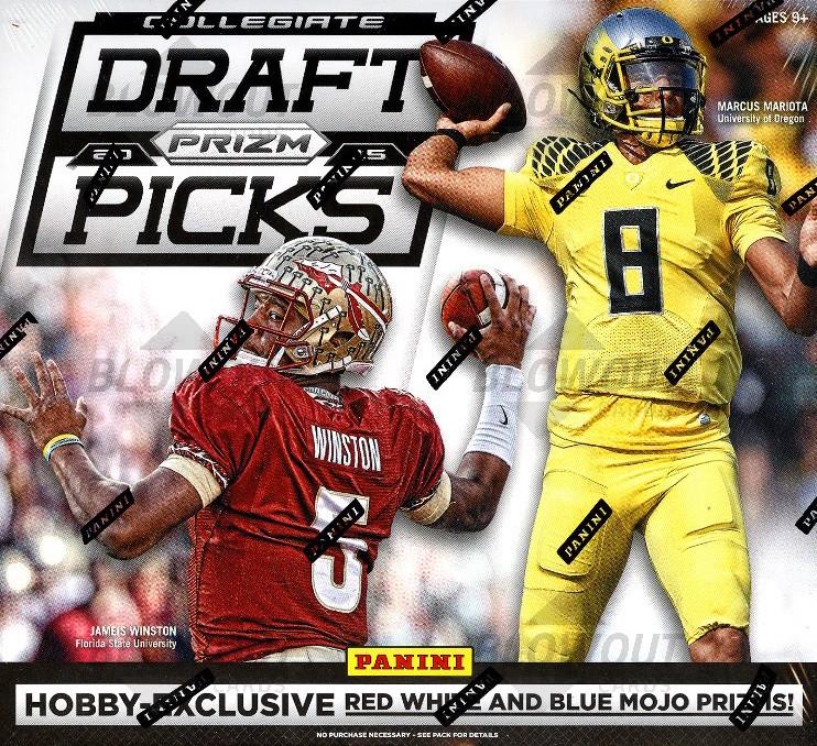 2015 Panini Contenders Draft Picks Football HOBBY Pack ? Mariota Winston Auto