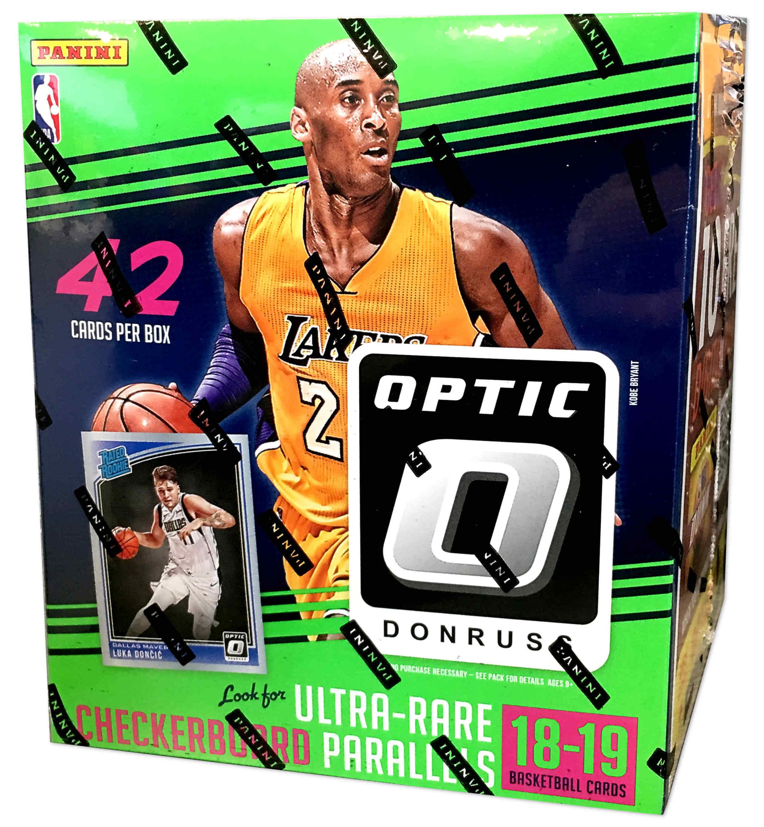 411b2ebff802 Buzz Break  2018-19 Donruss Optic NBA cards (Mega Box)
