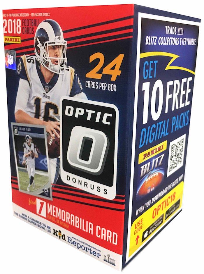 a3842240463 Buzz Break: 2018 Donruss Optic football cards (blaster box)
