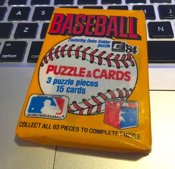 Buzz 8 In 8 Busting 1984 Donruss Baseball Cards Hour 8 Blowout Buzz