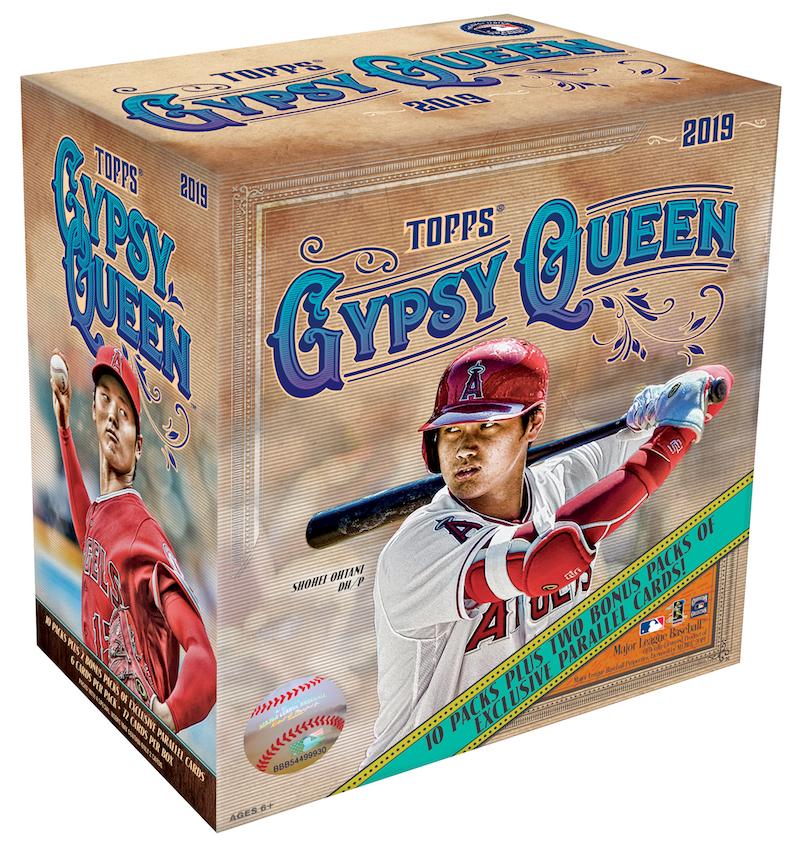 1c85d2b0a43 Buzz Break  2019 Topps Gypsy Queen MLB cards (mega box)   Blowout Buzz